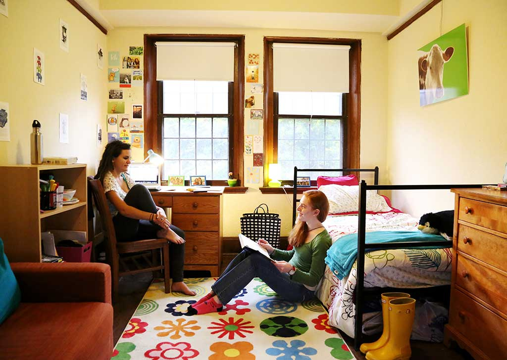 living in a dorm room will give you a freedom