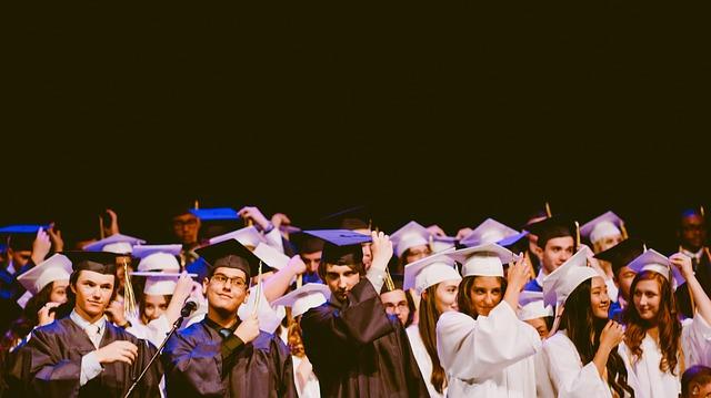 Graduated students.
