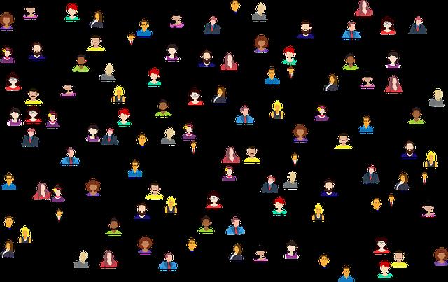 A cartoon representation of networking.