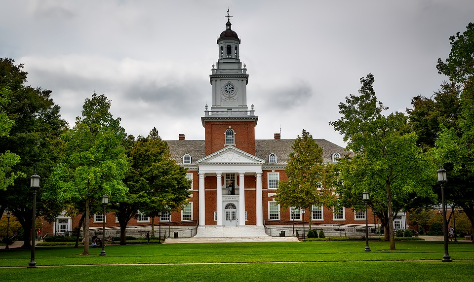 John Hopkins University, which is on the list of the best colleges in Maryland.