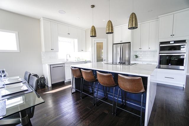Modern apartment, kitchen/