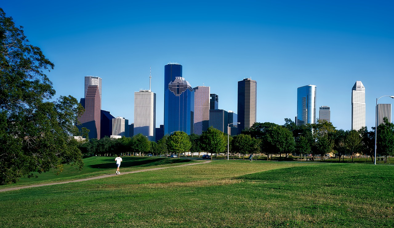 A park in Houston.