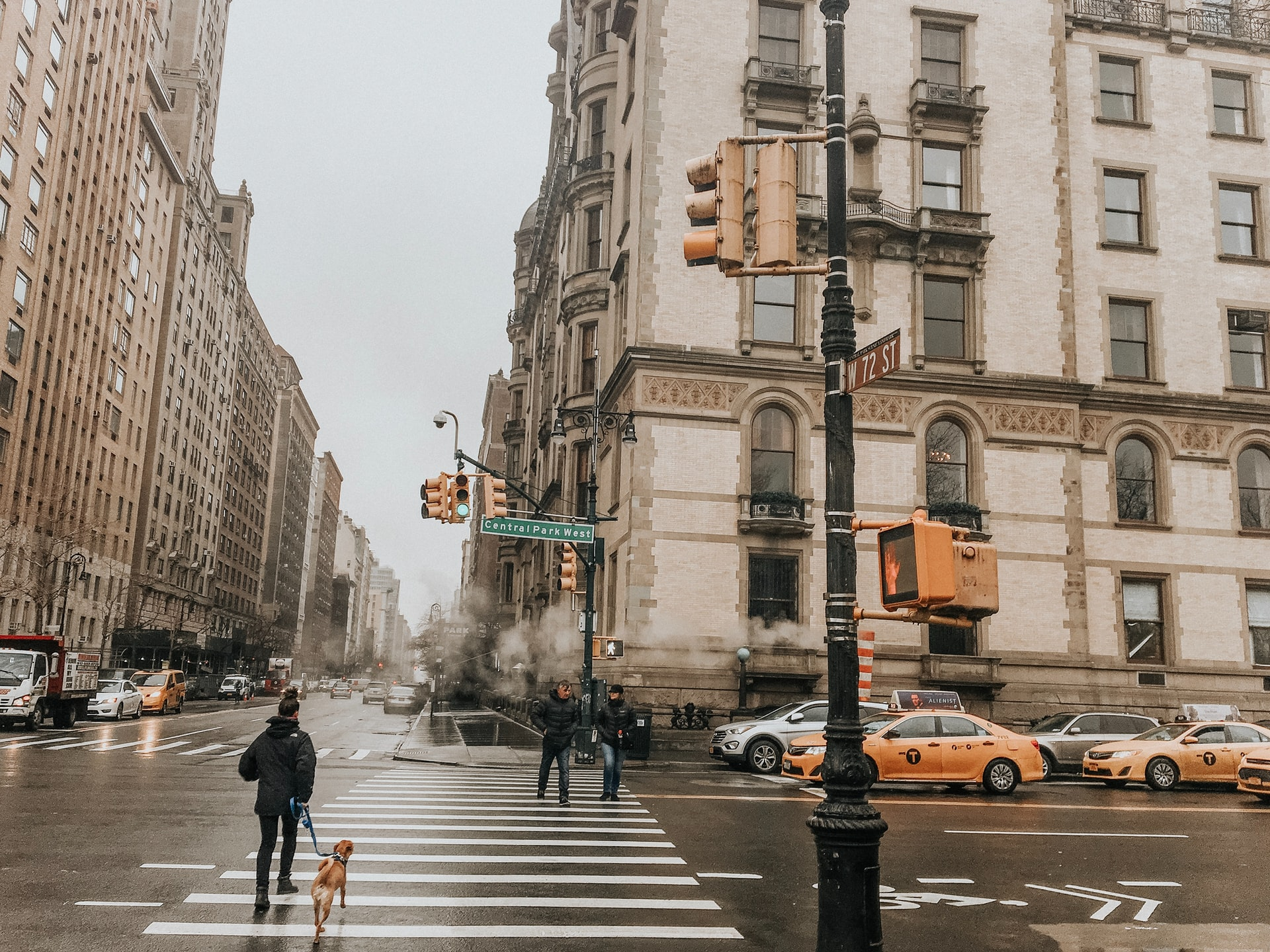 A rainy day in the Upper East Side