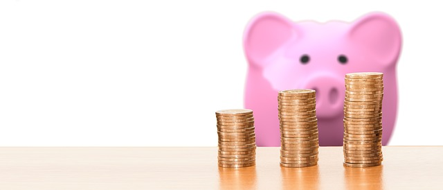 Save Piggy Bank Coins - Low budget home projects to try this summer