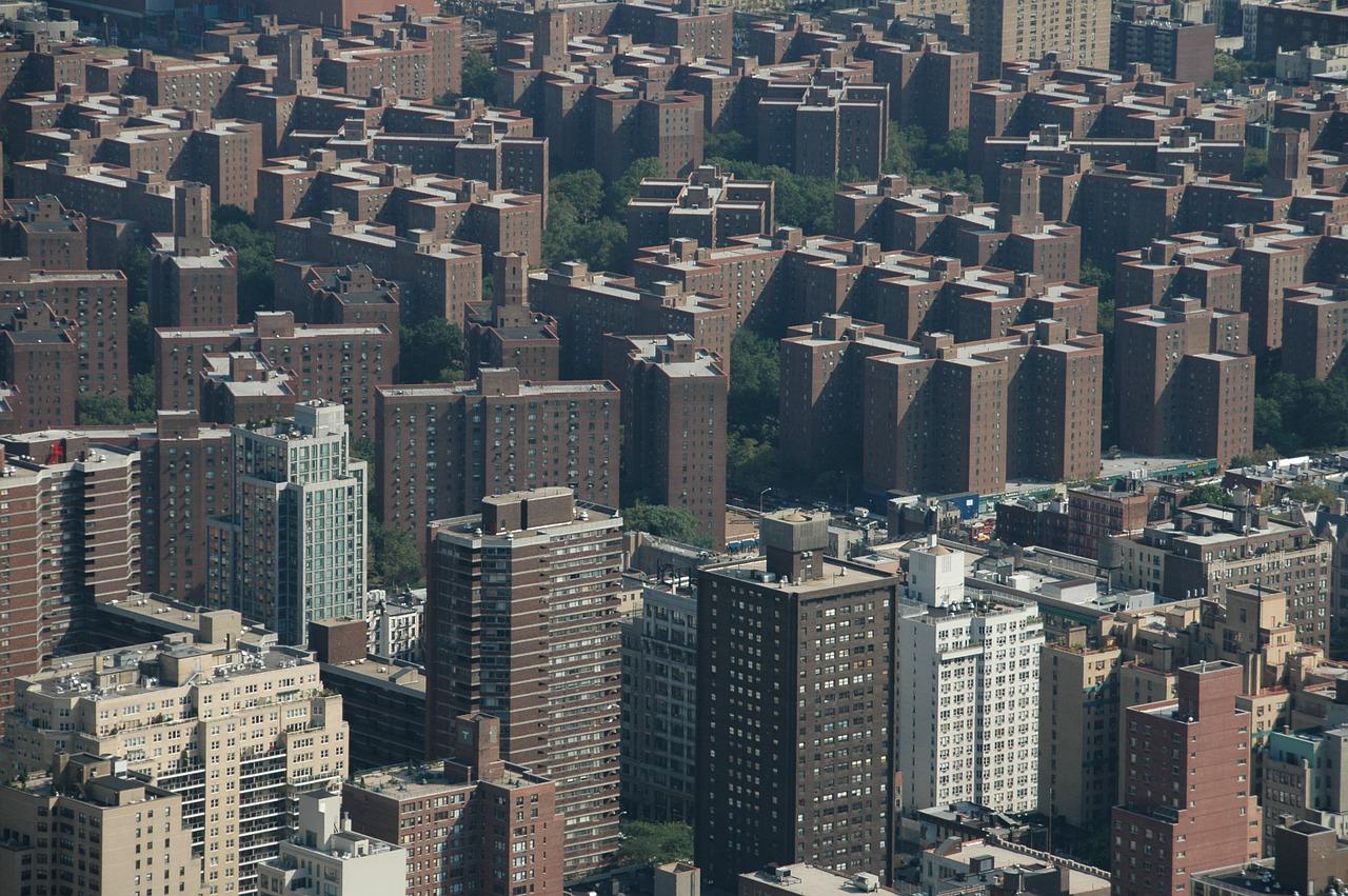 Neighborhood in Bronx.